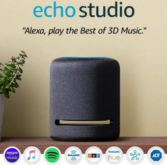 Amazon echo studio-Price and features in India