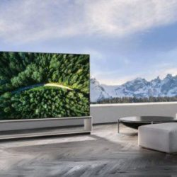 LG REVEALS RANGE OF 8K TVS