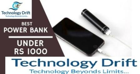 Let's Check out the list of Best Ten power bank under Rs 2,000