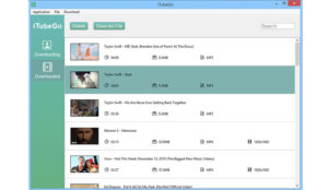 Download YouTube videos- iTubeGo