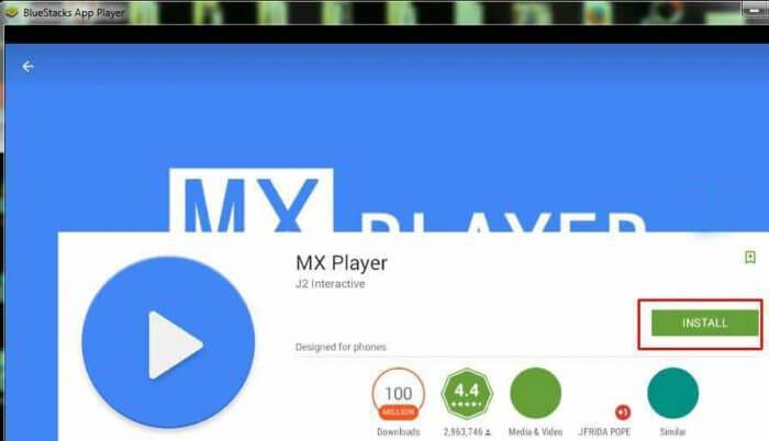 Download MX Player for PC/Laptop Windows 10/7/8/8.1